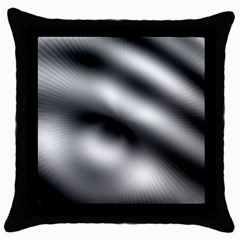 New 12 Throw Pillow Case (black) by timelessartoncanvas