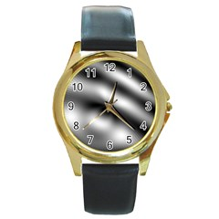 New 12 Round Gold Metal Watch by timelessartoncanvas