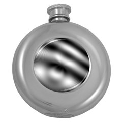 New 12 Round Hip Flask (5 Oz) by timelessartoncanvas