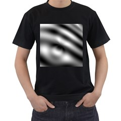 New 12 Men s T-shirt (black) by timelessartoncanvas