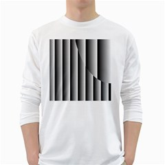 New 13 White Long Sleeve T Shirts by timelessartoncanvas