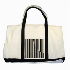 New 13 Two Tone Tote Bag by timelessartoncanvas