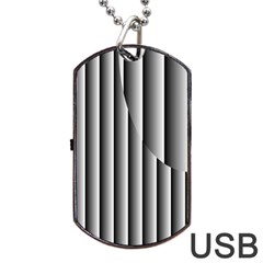 New 13 Dog Tag Usb Flash (one Side) by timelessartoncanvas