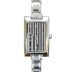 New 14 Rectangle Italian Charm Watch by timelessartoncanvas