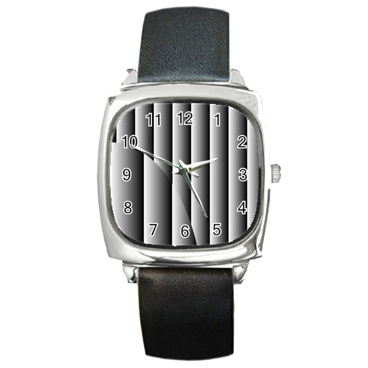 New 14 Square Metal Watch