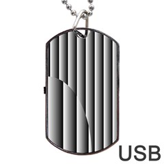 New 14 Dog Tag Usb Flash (two Sides)  by timelessartoncanvas
