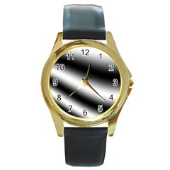 New 15 Round Gold Metal Watch by timelessartoncanvas