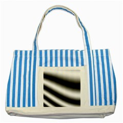 New 15 Striped Blue Tote Bag by timelessartoncanvas