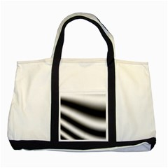 New 15 Two Tone Tote Bag by timelessartoncanvas