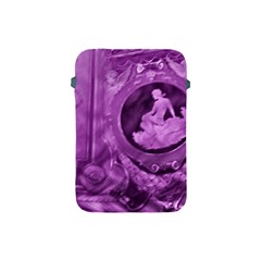 Vintage Purple Lady Cameo Apple Ipad Mini Protective Soft Cases by BrightVibesDesign