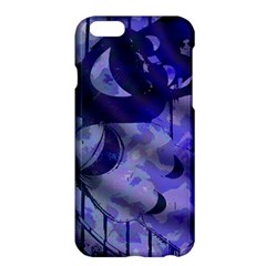 Blue Theater Drama Comedy Masks Apple iPhone 6 Plus/6S Plus Hardshell Case