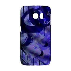 Blue Theater Drama Comedy Masks Galaxy S6 Edge