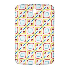 Squares Rhombus And Circles Pattern  			samsung Galaxy Note 8 0 N5100 Hardshell Case by LalyLauraFLM