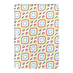 Squares Rhombus And Circles Pattern  			samsung Galaxy Tab Pro 12 2 Hardshell Case by LalyLauraFLM