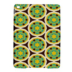 Blue Yellow Flowers Pattern 			apple Ipad Air 2 Hardshell Case by LalyLauraFLM
