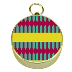Stripes And Other Shapes   			gold Compass by LalyLauraFLM