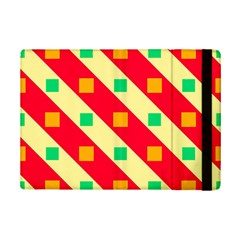 Squares And Stripes    			apple Ipad Mini 2 Flip Case by LalyLauraFLM