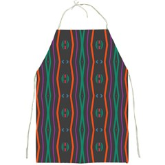 Wavy Chains Pattern     			full Print Apron by LalyLauraFLM