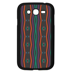 Wavy Chains Pattern     			samsung Galaxy Grand Duos I9082 Case (black) by LalyLauraFLM