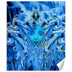 Medusa Metamorphosis Canvas 8  X 10  by icarusismartdesigns