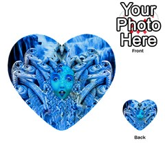 Medusa Metamorphosis Multi Purpose Cards (heart)  by icarusismartdesigns