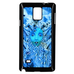 Medusa Metamorphosis Samsung Galaxy Note 4 Case (black) by icarusismartdesigns
