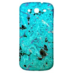 Blue Sensations (aquamarine) Samsung Galaxy S3 S Iii Classic Hardshell Back Case by q3000