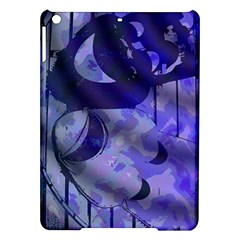 Blue Theater Drama Comedy Masks iPad Air Hardshell Cases