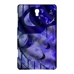 Blue Theater Drama Comedy Masks Samsung Galaxy Tab S (8.4 ) Hardshell Case