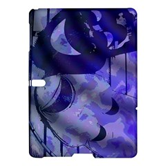 Blue Theater Drama Comedy Masks Samsung Galaxy Tab S (10.5 ) Hardshell Case