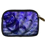 Blue Comedy Drama Theater Masks Digital Camera Cases Back