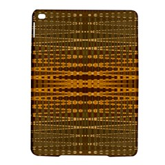 Yellow Gold Khaki Glow Pattern Ipad Air 2 Hardshell Cases by BrightVibesDesign