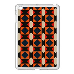 Rhombus And Stripes      			apple Ipad Mini Case (white) by LalyLauraFLM