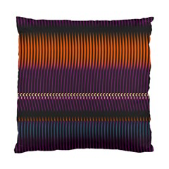 Curvy Stripes       	standard Cushion Case (two Sides) by LalyLauraFLM