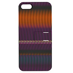 Curvy Stripes       			apple Iphone 5 Hardshell Case With Stand by LalyLauraFLM