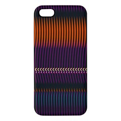 Curvy Stripes       			iphone 5s Premium Hardshell Case by LalyLauraFLM