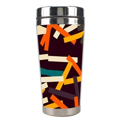 Sticks          Stainless Steel Travel Tumbler by LalyLauraFLM