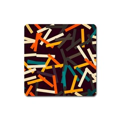 Sticks          			magnet (square) by LalyLauraFLM