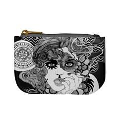 Smoking Woman Coin Purse  by DryInk