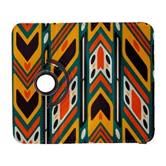 Distorted Shapes In Retro Colors   			samsung Galaxy S Iii Flip 360 Case by LalyLauraFLM