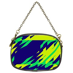3 Colors Shapes    	chain Purse (two Sides) by LalyLauraFLM