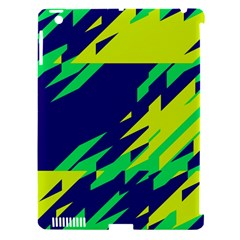 3 Colors Shapes    			apple Ipad 3/4 Hardshell Case (compatible With Smart Cover) by LalyLauraFLM