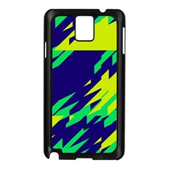 3 Colors Shapes    			samsung Galaxy Note 3 N9005 Case (black) by LalyLauraFLM