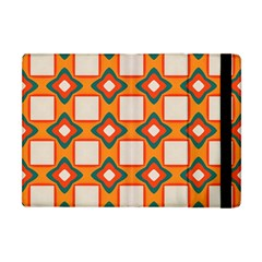 Flowers And Squares Pattern     			apple Ipad Mini Flip Case by LalyLauraFLM