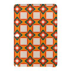 Flowers And Squares Pattern     			samsung Galaxy Tab Pro 10 1 Hardshell Case by LalyLauraFLM