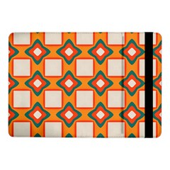 Flowers And Squares Pattern     			samsung Galaxy Tab Pro 10 1  Flip Case by LalyLauraFLM