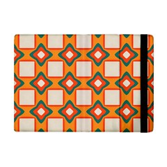 Flowers And Squares Pattern     			apple Ipad Mini 2 Flip Case by LalyLauraFLM