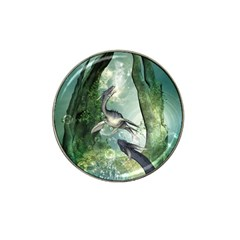 Awesome Seadraon In A Fantasy World With Bubbles Hat Clip Ball Marker (10 Pack) by FantasyWorld7