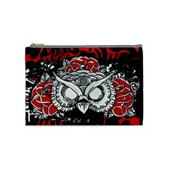 Dark Owl Cosmetic Bag (medium) by DryInk