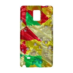 Colorful 3d Texture   			samsung Galaxy Note 4 Hardshell Case by LalyLauraFLM